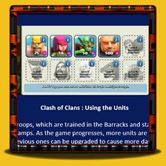 Clash of Clans - Using the Units